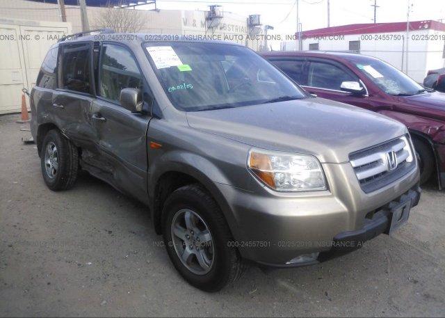 Inventory #625935428 2008 Honda PILOT