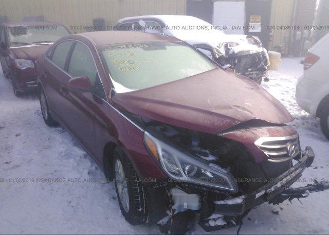 Inventory #458611266 2015 Hyundai SONATA