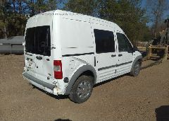 2013 FORD TRANSIT CONNECT - NM0LS6BN0DT157418 rear view