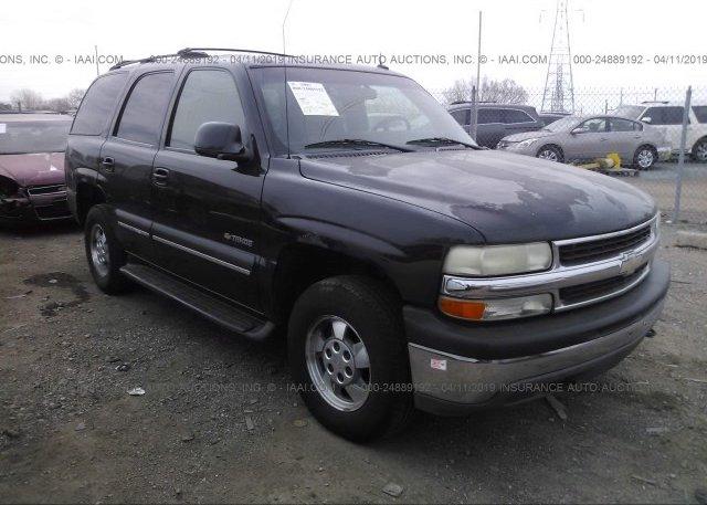 Inventory #738964674 2002 Chevrolet TAHOE