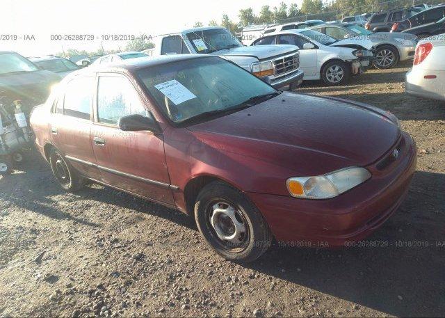 Inventory #688553622 2000 Toyota COROLLA