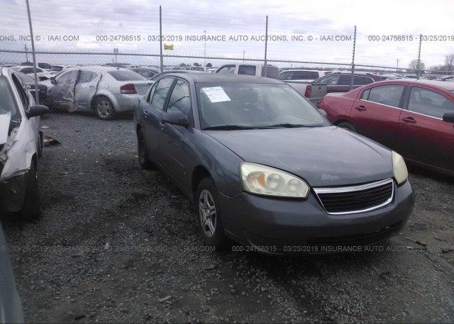 Inventory #914541980 2007 Chevrolet MALIBU