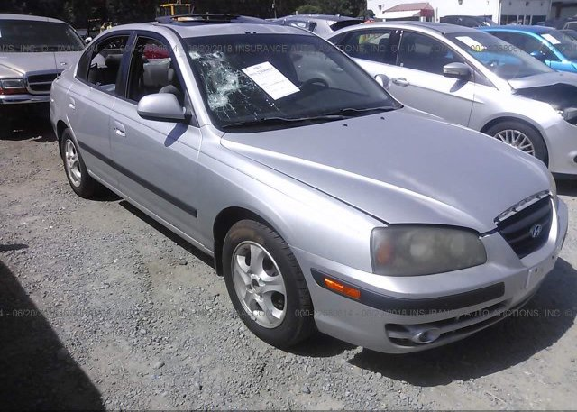 Inventory #356317365 2004 Hyundai ELANTRA