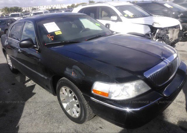 2lnbl8cv2bx760792 Rebuildable Black Lincoln Town Car At Opa Locka
