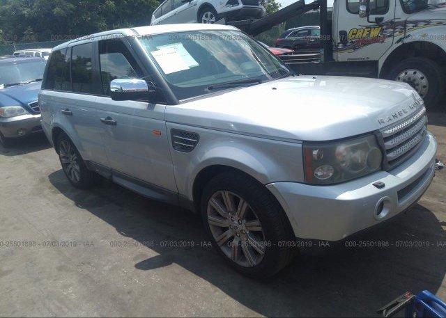 Inventory #549551346 2008 Land Rover RANGE ROVER SPORT