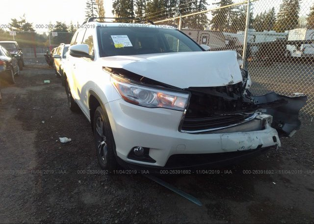 Inventory #635494391 2016 Toyota HIGHLANDER