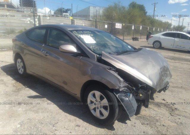 Inventory #936474661 2016 Hyundai ELANTRA