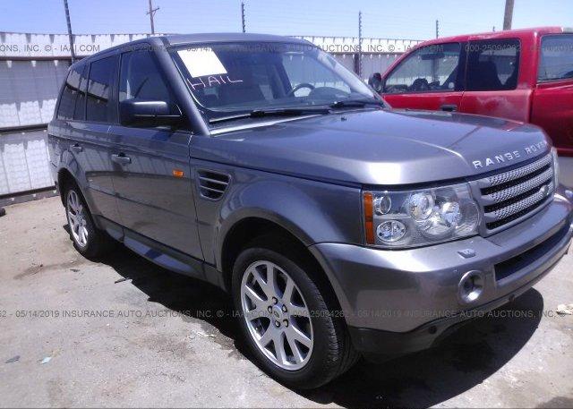Inventory #170712482 2008 Land Rover RANGE ROVER SPORT