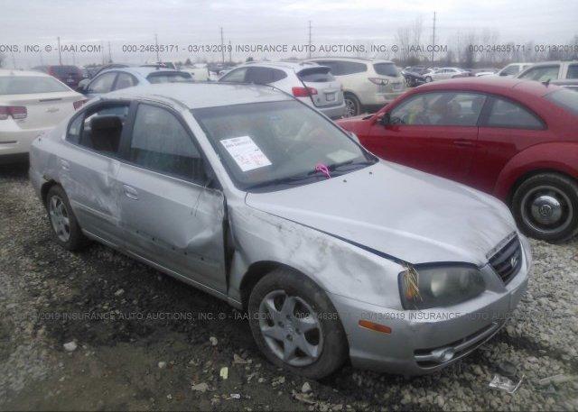 Inventory #811585702 2004 Hyundai ELANTRA