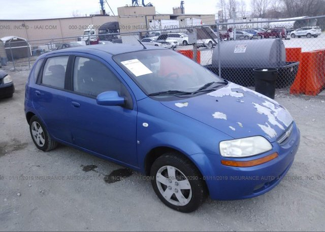 Kl1td66648b144495 Clear Blue Chevrolet Aveo At Bowling Green Ky On