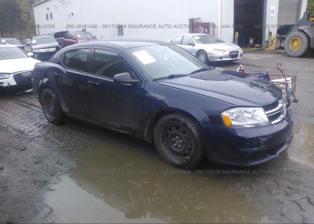 Inventory #188608050 2014 Dodge AVENGER