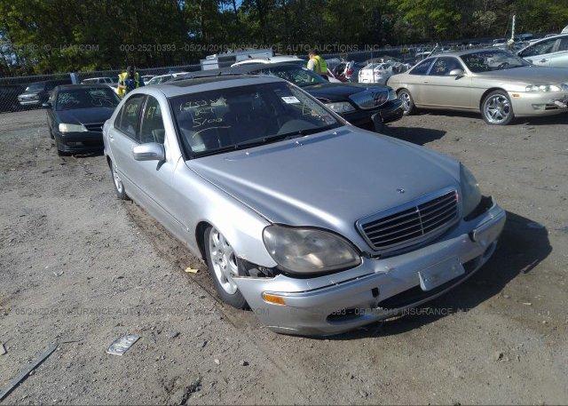 Inventory #958911799 2001 Mercedes-benz S