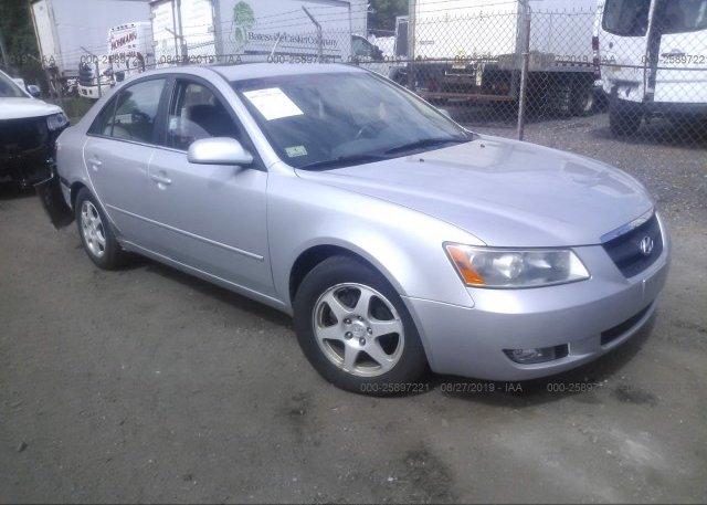 Inventory #408286965 2006 Hyundai SONATA