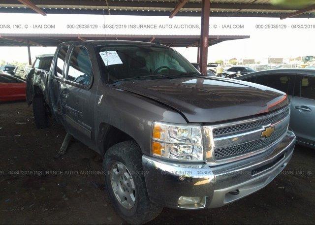 Inventory #897928583 2012 Chevrolet SILVERADO