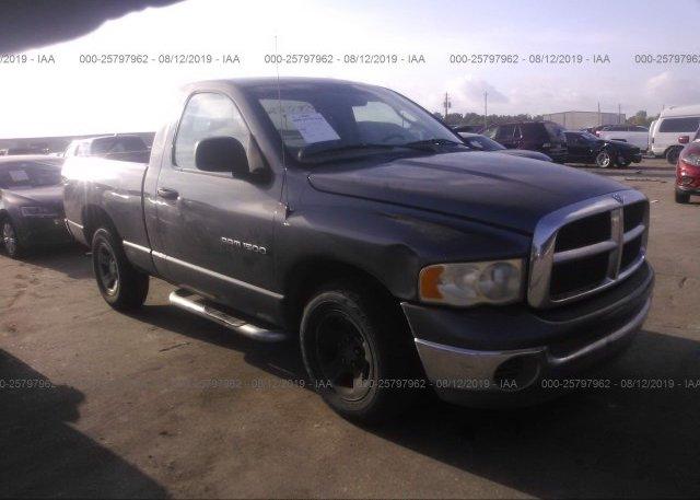 Inventory #105661732 2002 Dodge RAM 1500