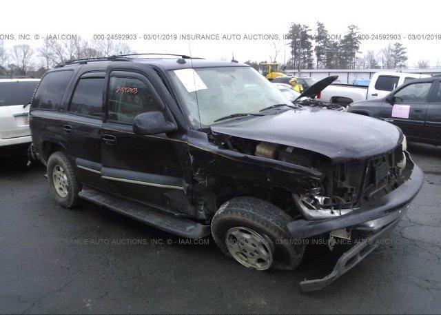 Inventory #550671501 2004 Chevrolet TAHOE