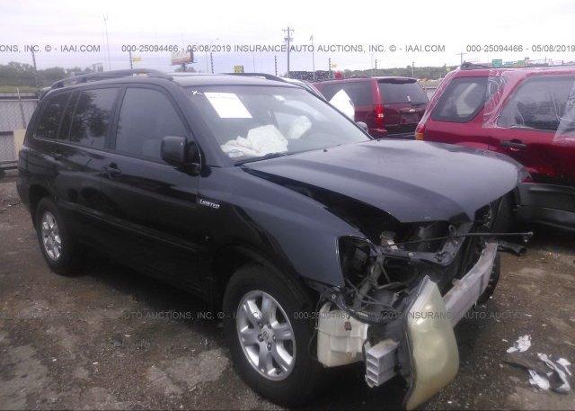 Inventory #595650250 2001 Toyota HIGHLANDER