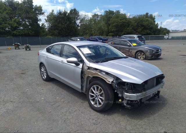 Inventory #802358224 2017 FORD FUSION