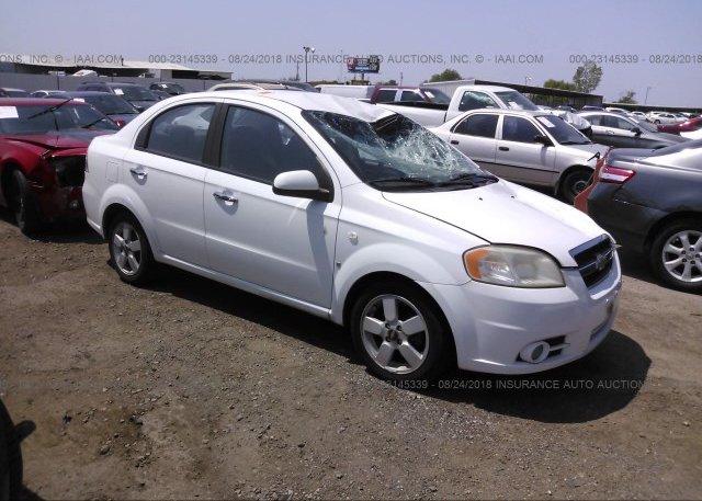 Kl1td6dexbb229875 Salvage Certificate White Chevrolet Aveo At