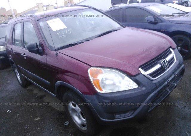 Inventory #672460188 2002 Honda CR-V