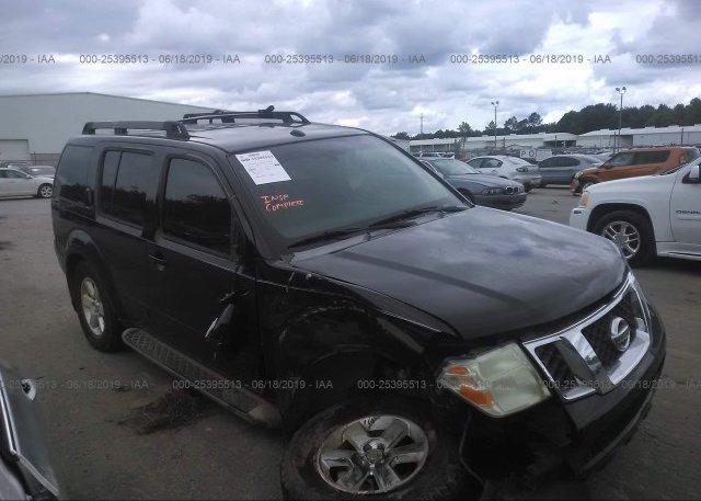 Inventory #745108900 2008 Nissan PATHFINDER