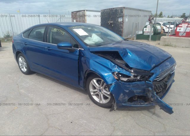 Inventory #441029973 2018 FORD FUSION