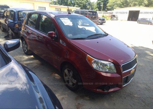 Inventory #509490524 2009 Chevrolet AVEO