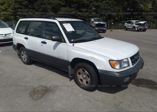 Inventory #762573195 1999 Subaru FORESTER