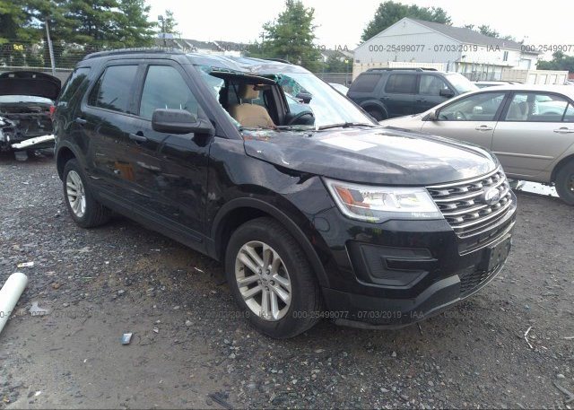 Inventory #154710858 2017 FORD EXPLORER