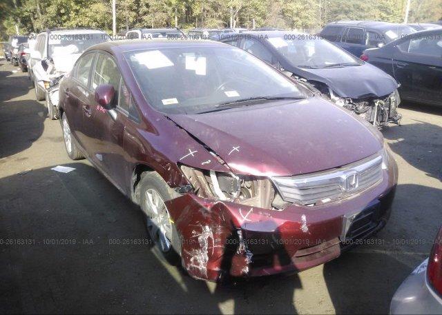 Inventory #885876589 2012 Honda CIVIC