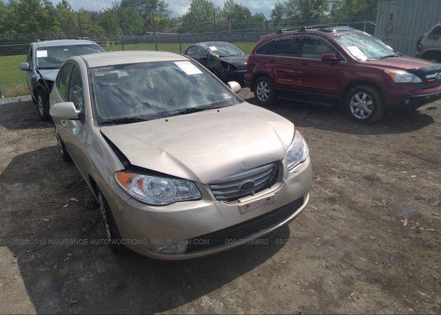 Inventory #923161046 2010 Hyundai ELANTRA