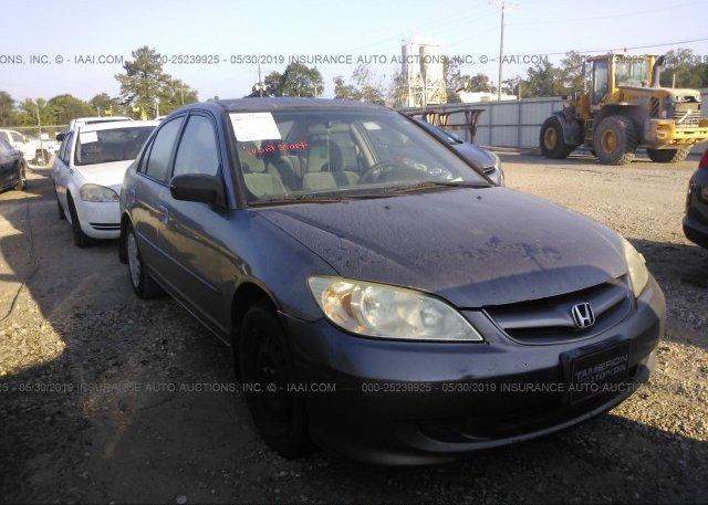 Inventory #674957500 2005 Honda CIVIC