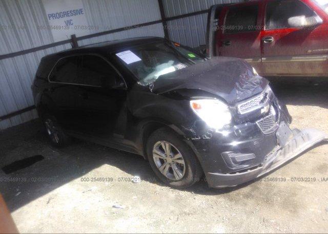 Inventory #813899851 2012 Chevrolet EQUINOX