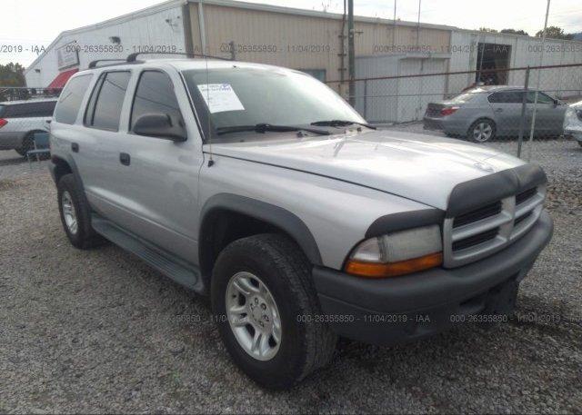 Inventory #331283285 2003 Dodge DURANGO