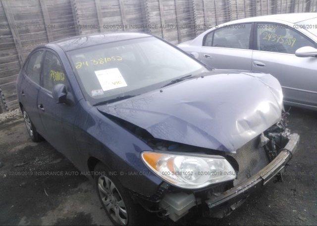 Inventory #105898920 2010 Hyundai ELANTRA