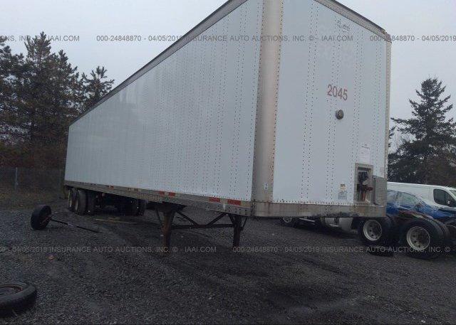 Inventory #964372181 2000 WABASH NATIONAL CORP VAN