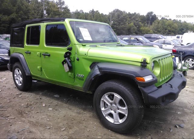 Inventory #316769194 2018 JEEP WRANGLER UNLIMITE