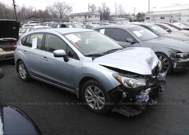 Inventory #880237153 2015 Subaru IMPREZA