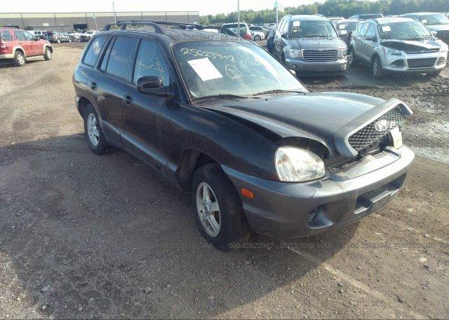 Inventory #888632861 2004 Hyundai SANTA FE
