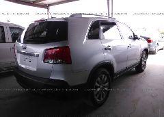 2011 KIA SORENTO - 5XYKT4A29BG045622 rear view
