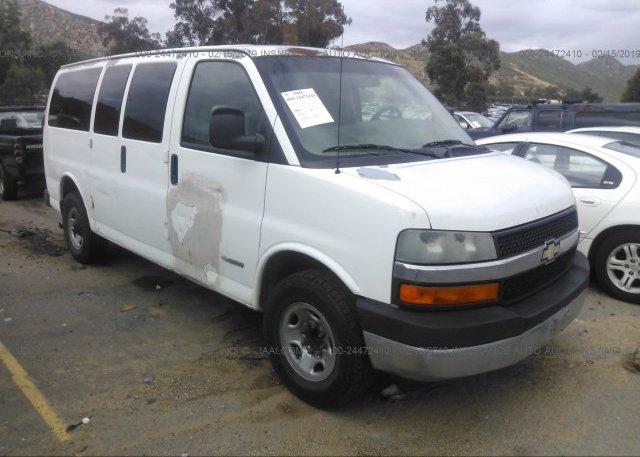 Inventory #901474122 2005 Chevrolet EXPRESS G3500