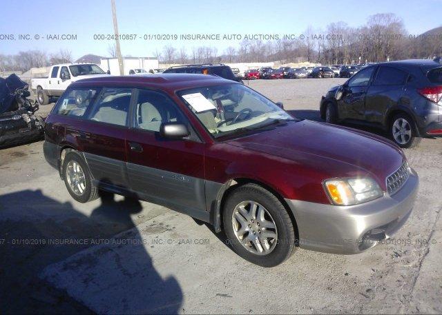Inventory #880150585 2004 Subaru LEGACY