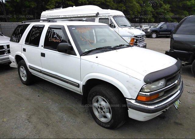 Inventory #751408217 2000 Chevrolet BLAZER