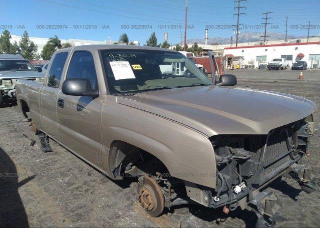 Inventory #960992440 2005 Chevrolet SILVERADO