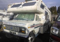 1991 FORD ECONOLINE - 1FDKE30G7MHB06084 Right View