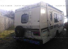 1991 FORD ECONOLINE - 1FDKE30G7MHB06084 rear view