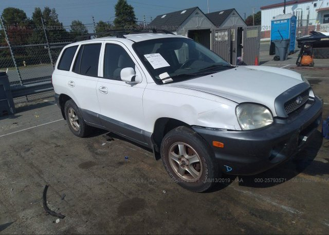 Inventory #294555684 2001 Hyundai SANTA FE