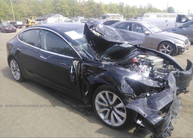 Inventory #707814571 2018 Tesla MODEL 3