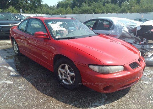 Inventory #172614262 1999 Pontiac GRAND PRIX