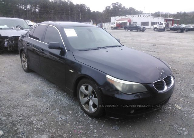 Inventory #975270108 2006 BMW 525